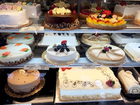 All kinds of cakes in the $20 range
