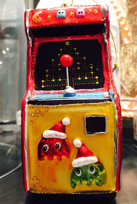 Pacman game ornament